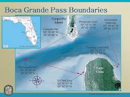 Boca Grande Pass Map - Wrecks Reefs